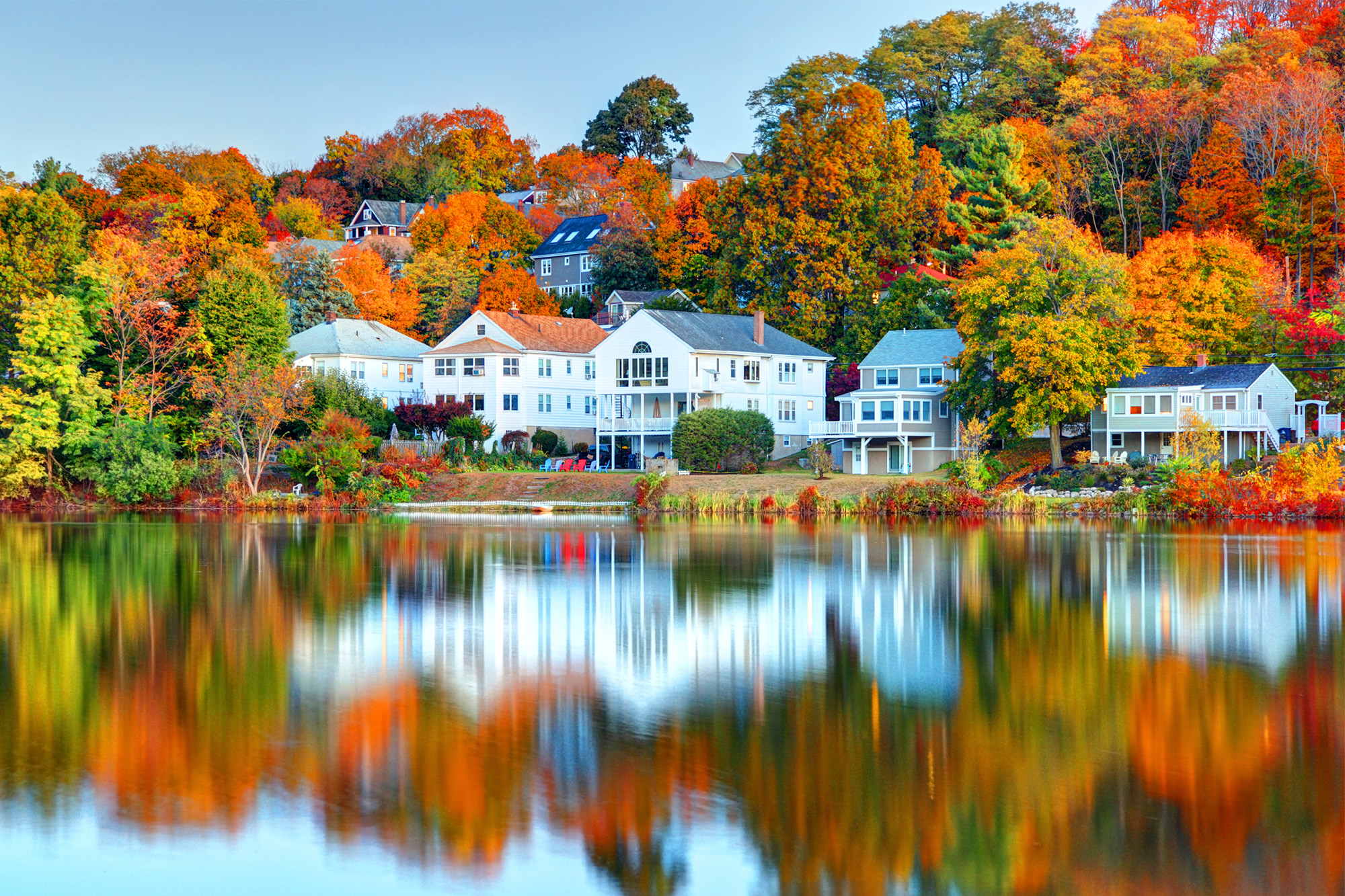 New Hampshire Fall Foliage Wallpaper Is Fall The Best Time To Buy A House