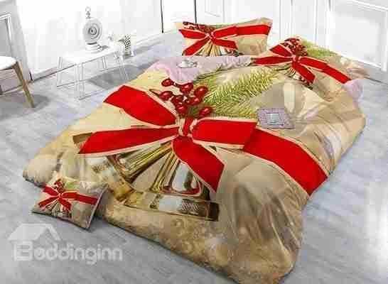 Red Christmas Holiday Bedding Ideas O Holiday Decor