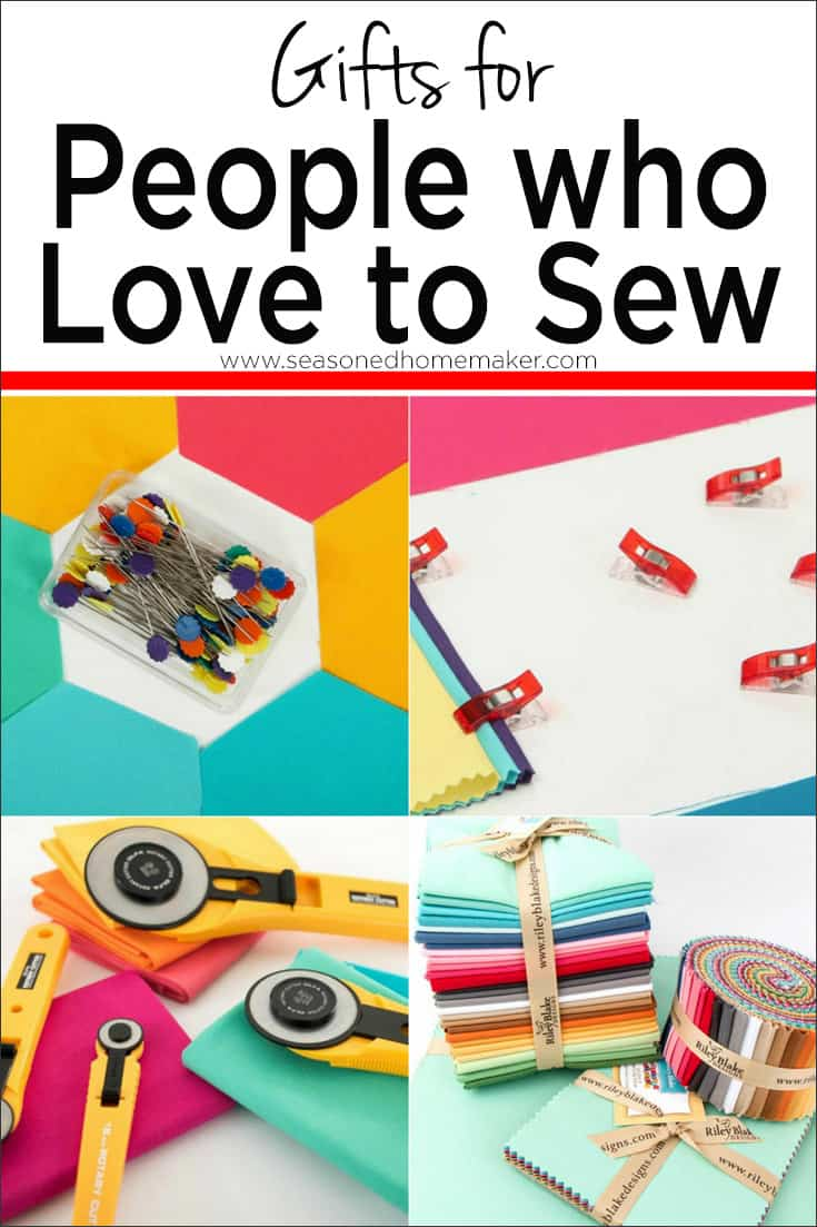 Gift Guide For People Who Sew Quilt