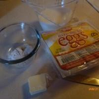 Creamed Eggs over Toast