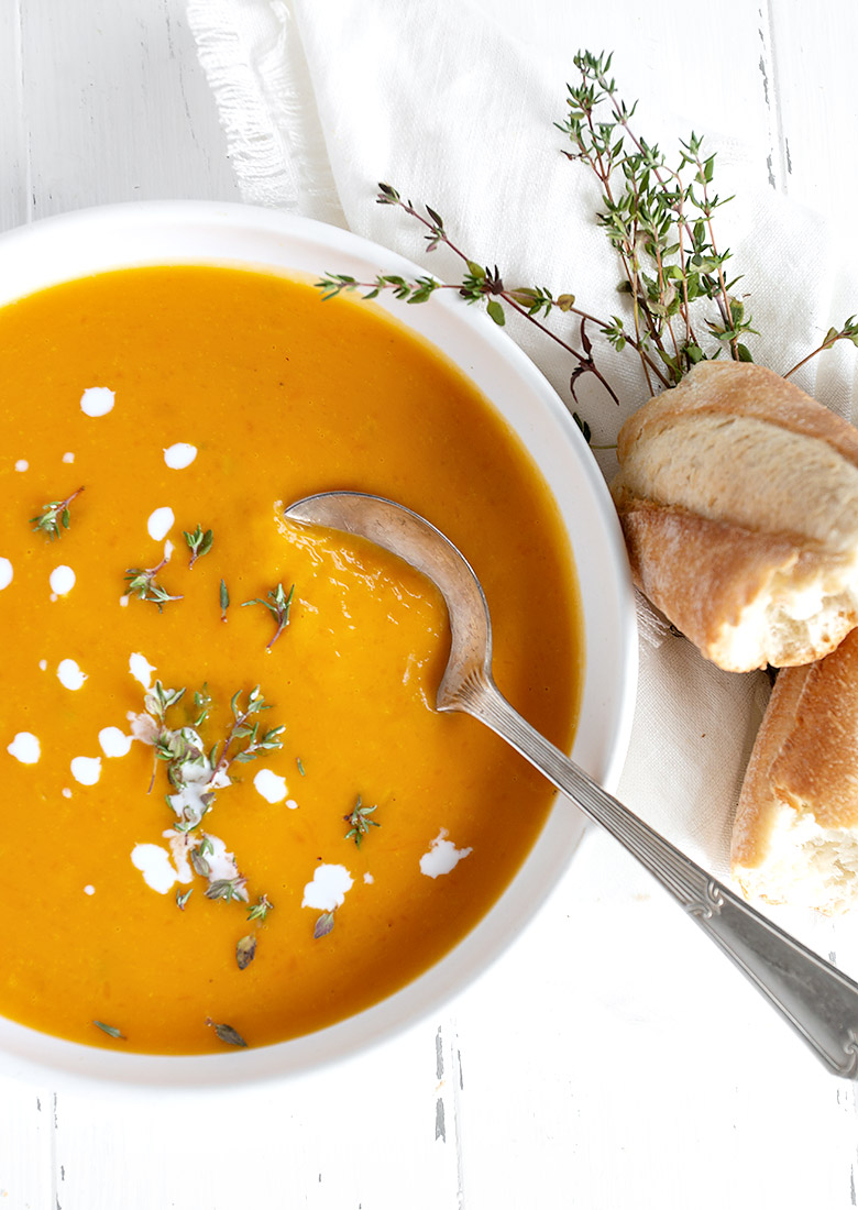 Simply Perfect Roasted Butternut Squash Soup Seasons And Suppers