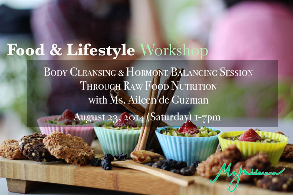 body cleansing and hormone balancing workshop