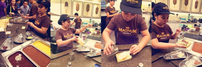 magnum cafe ice cream bar