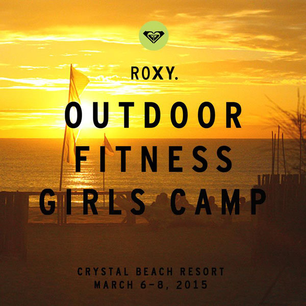 Roxy Outdoor Fitness Girls Camp Crystal Beach Resort Zambales