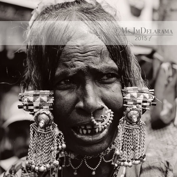 goa india woman piercing unique