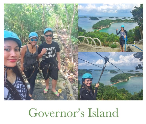 hundred islands governor's island view deck and zipline