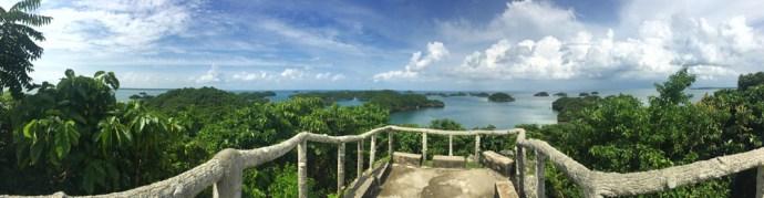 view deck governors island hundred islands pangasinan alaminos