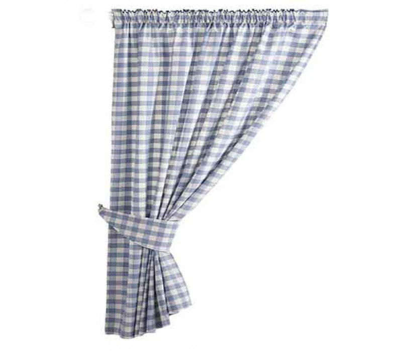 Karo Gardinen Gingham Curtains Uk | Flisol Home
