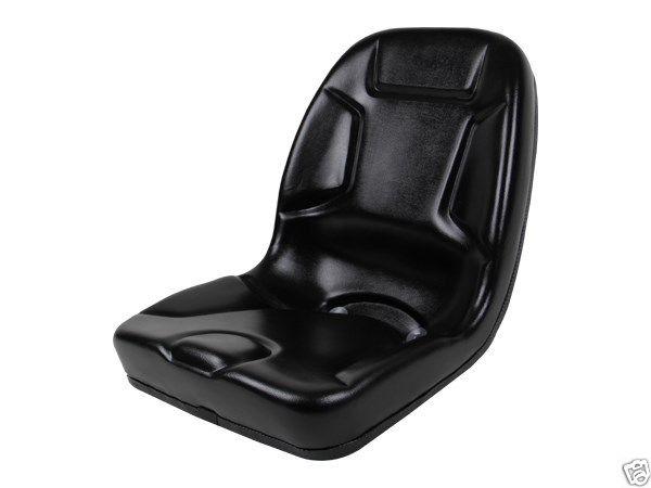 HIGH BACK BLACK SEAT FITS 650, 750, 850, 950,  1050 JOHN DEERE
