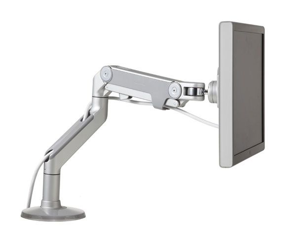 Humanscale M8 Monitor Arm Seated