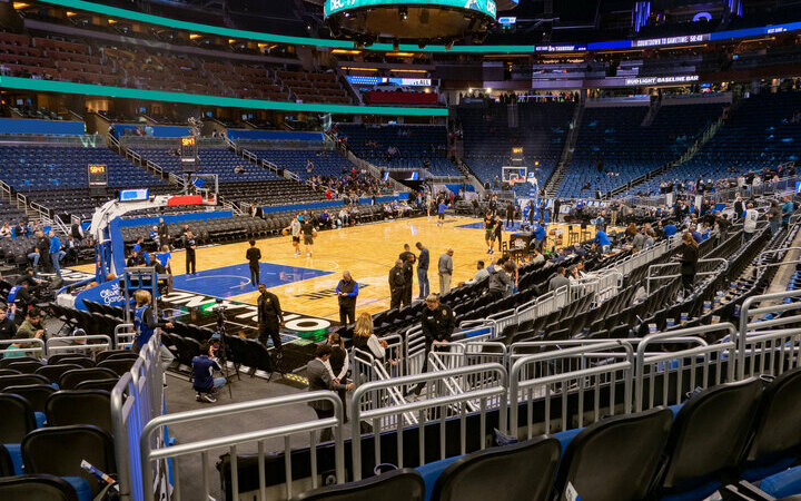Amway Center Seating Chart  Map SeatGeek