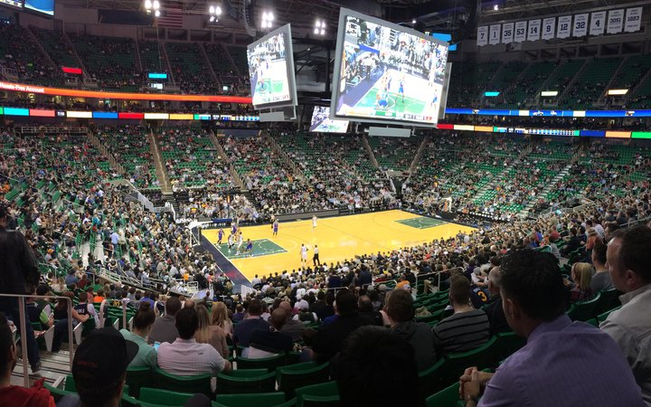 Utah Jazz Seating Chart - Photos Chart In The Word