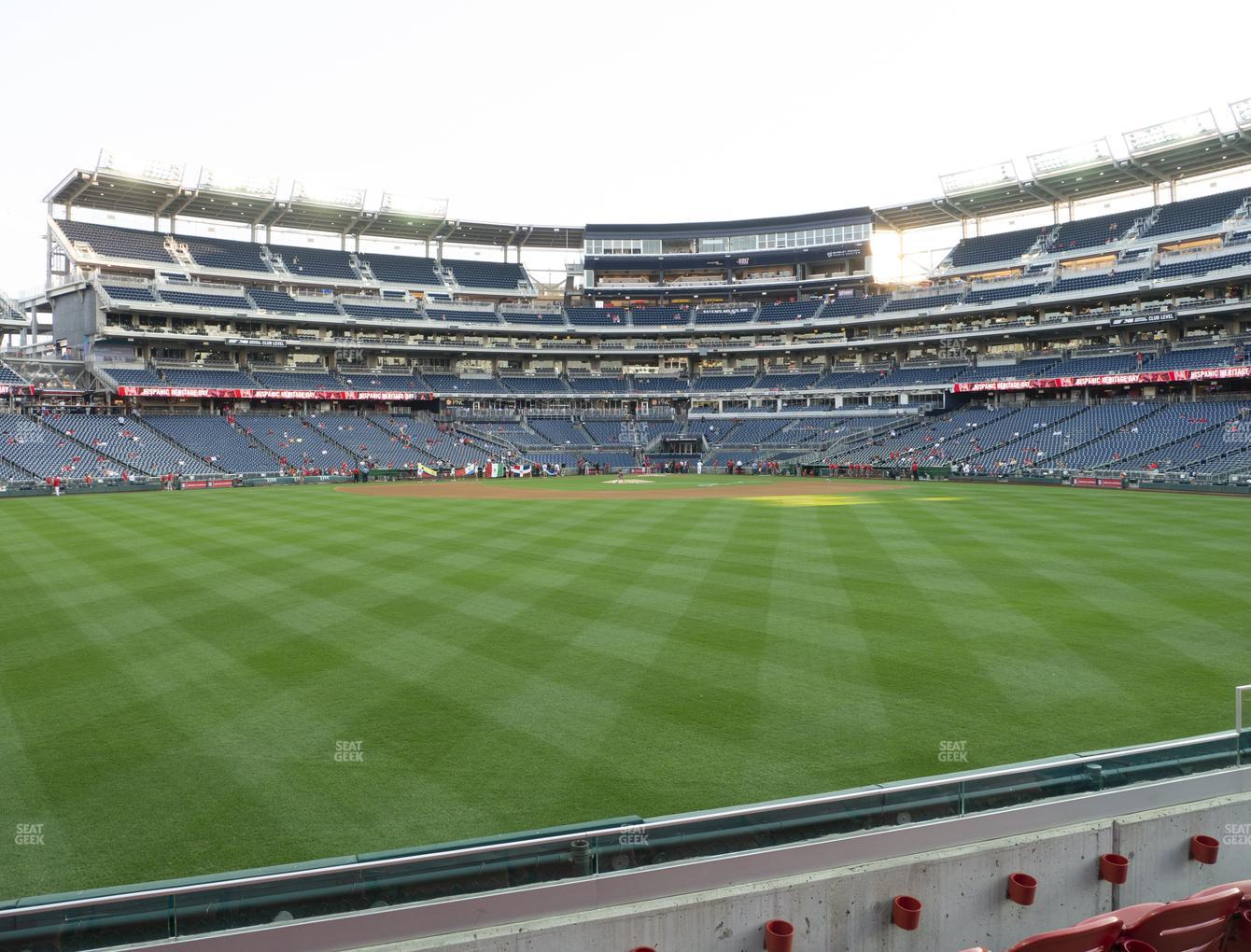 Orlando Sedie Nationals Park Section 100 Seat Views Seatgeek