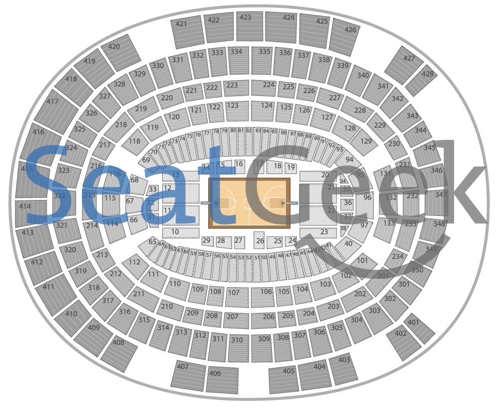 Madison Square Garden Hockey Seating Chart Virtual