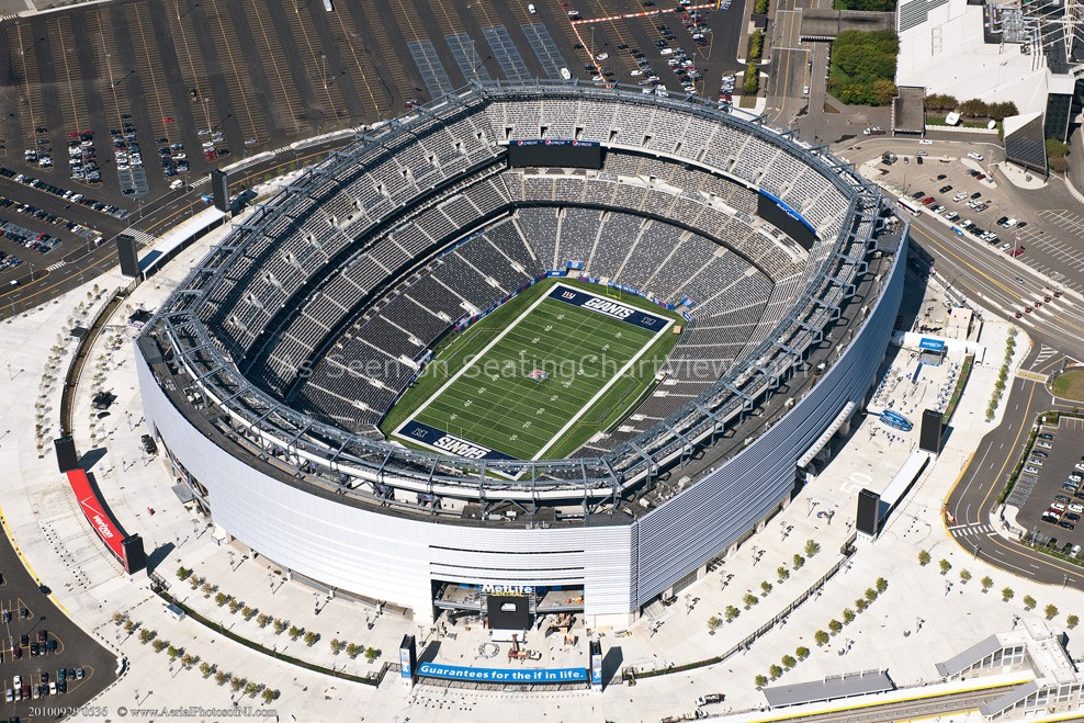 MetLife Stadium, E Rutherford NJ - Seating Chart View