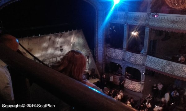 Balcony Bench Old Vic Theatre Lilian Baylis Circle View From Seat & Best