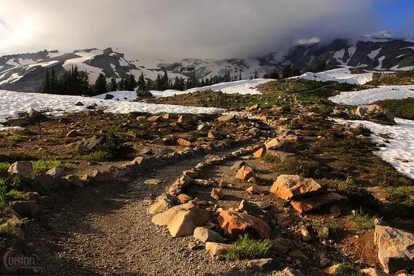 Fall Leaves Wallpaper Border Skyline Trail Mt Rainier Seattle Backpackers Magazine