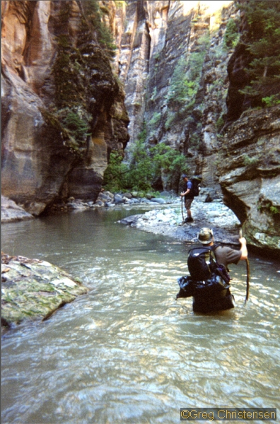 Outdoor Shop The Narrows Zion National Park - Seattle Backpackers Magazine