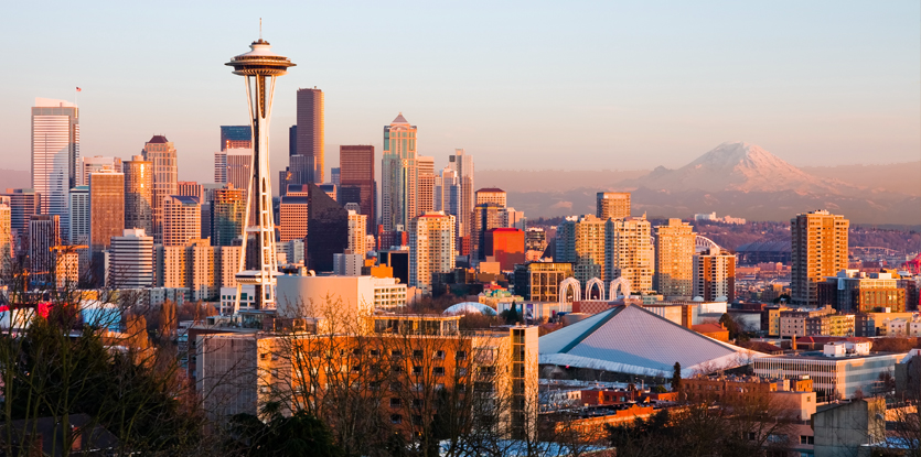 Seattle Washington In Fall City Night Wallpaper Seattle Home Show Home Improvement Builders Remodeling
