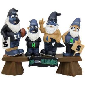 Seattle Seahawks Gnomes for Garden and Home