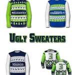 Seattle Seahawks – Mariners – Sounders Ugly Sweater