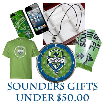 Sounders Soccer Gifts Under $50.00