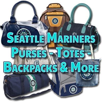 Mariners purses, handbags, totes, satchels, backpacks and more