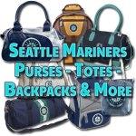 Seattle Mariners Purses – Handbags – Totes – Backpacks – & More!