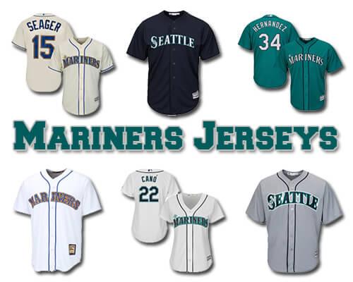 Seattle Mariners Baseball Jerseys