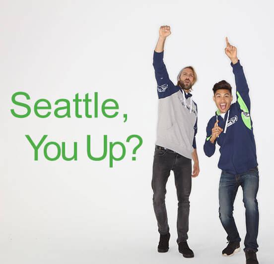 Seattle Seahawks Hands High Fan Gear