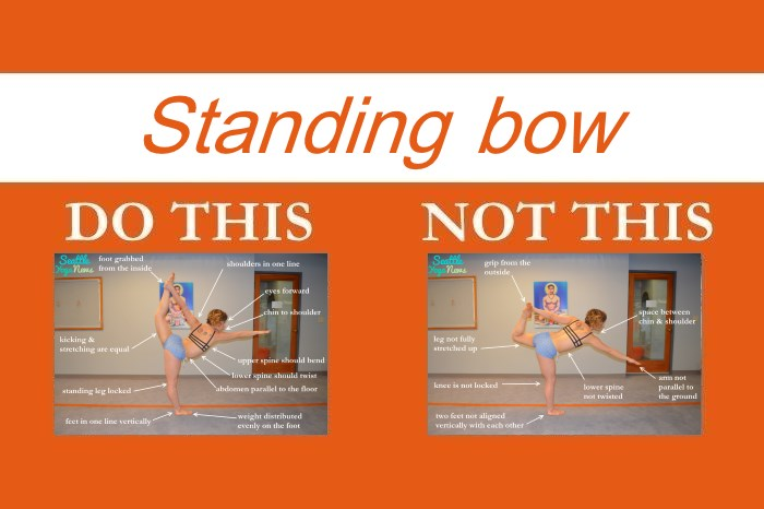 Perfecting the Bikram yoga poses: Standing Bow