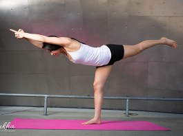 4 for the core yoga challenge