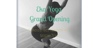eka yoga seattle grand opening