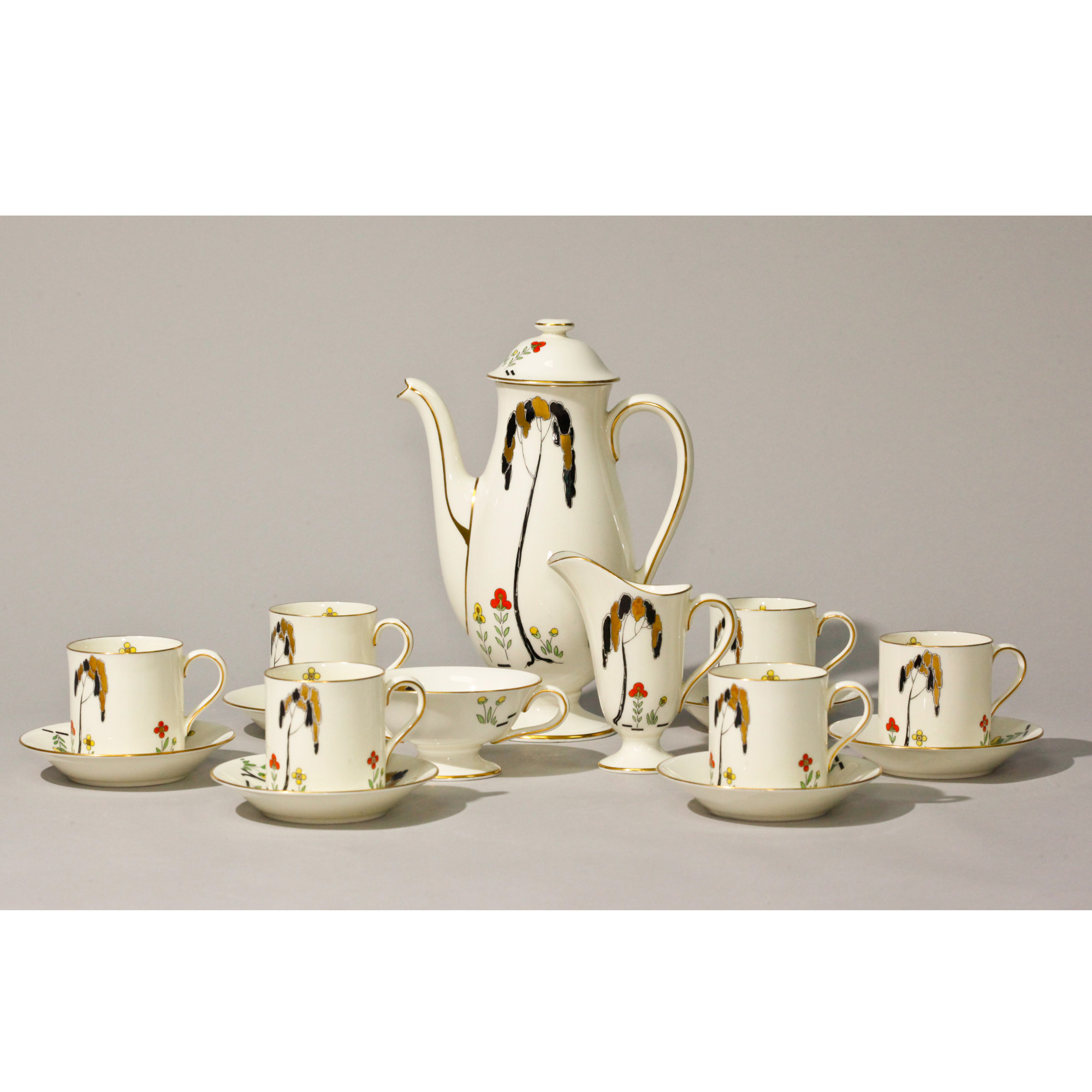 Coffee Art Maker Set Royal Doulton Art Deco Coffee Set 15 Pc Seaway China