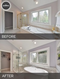 Doug & Natalie's Master Bath Before & After Pictures ...