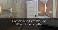 Glazed Porcelain Tile Vs Ceramic - Tile Design Ideas