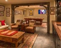 45 Amazing Luxury Finished Basement Ideas | Home ...