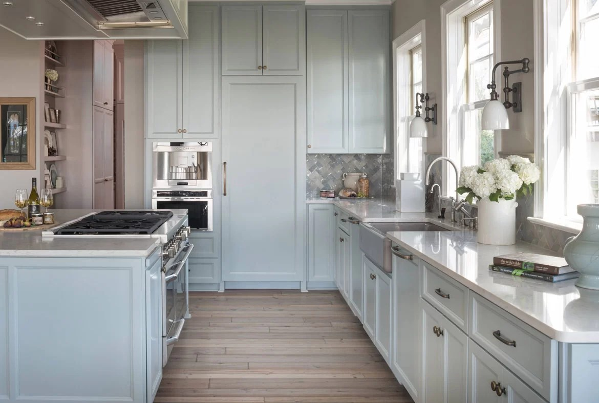 Lichtblauwe Keuken Design Trend Blue Kitchen Cabinets And 30 Ideas To Get You