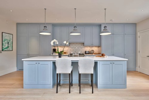 Medium Of Blue Kitchen Cabinets