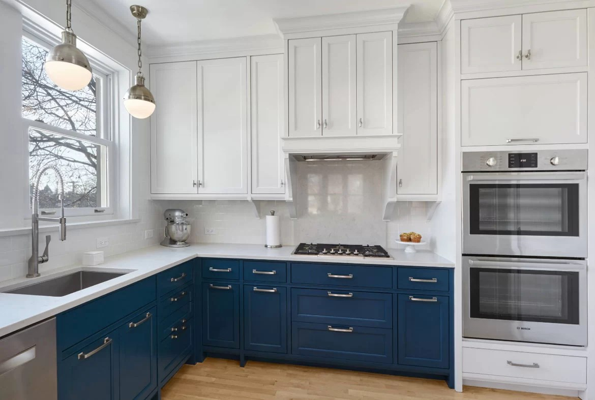 Blue In Kitchen Design Trend Blue Kitchen Cabinets And 30 Ideas To Get You