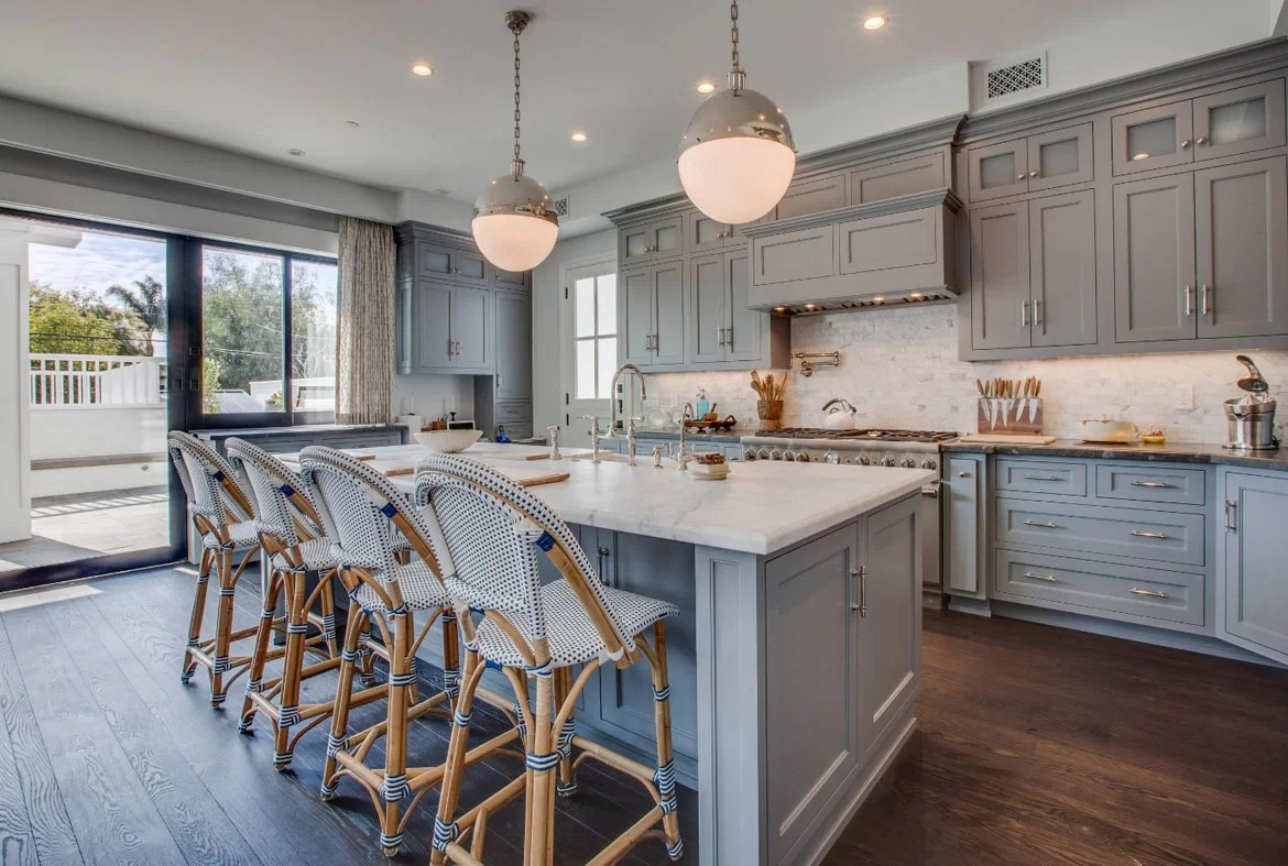 Pale Blue Kitchen Design Trend Blue Kitchen Cabinets 30 Ideas To Get You Started