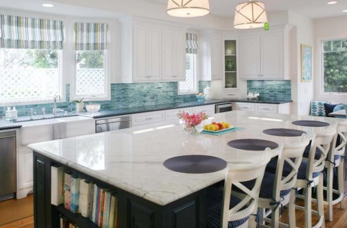 Medium Of Glass Tile Backsplash Pictures