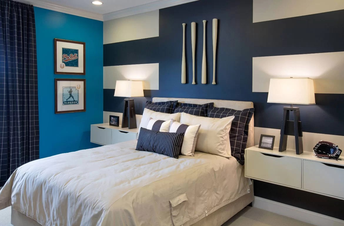 Ideas For Bedrooms 47 Really Fun Sports Themed Bedroom Ideas Home Remodeling