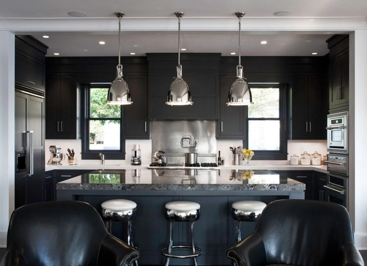 Built In Kitchen Cabinets Zimbabwe 30 Classy Projects With Dark Kitchen Cabinets Home