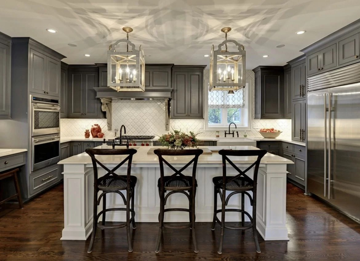 Kitchen Design Ideas Dark Floors 30 Classy Projects With Dark Kitchen Cabinets Home