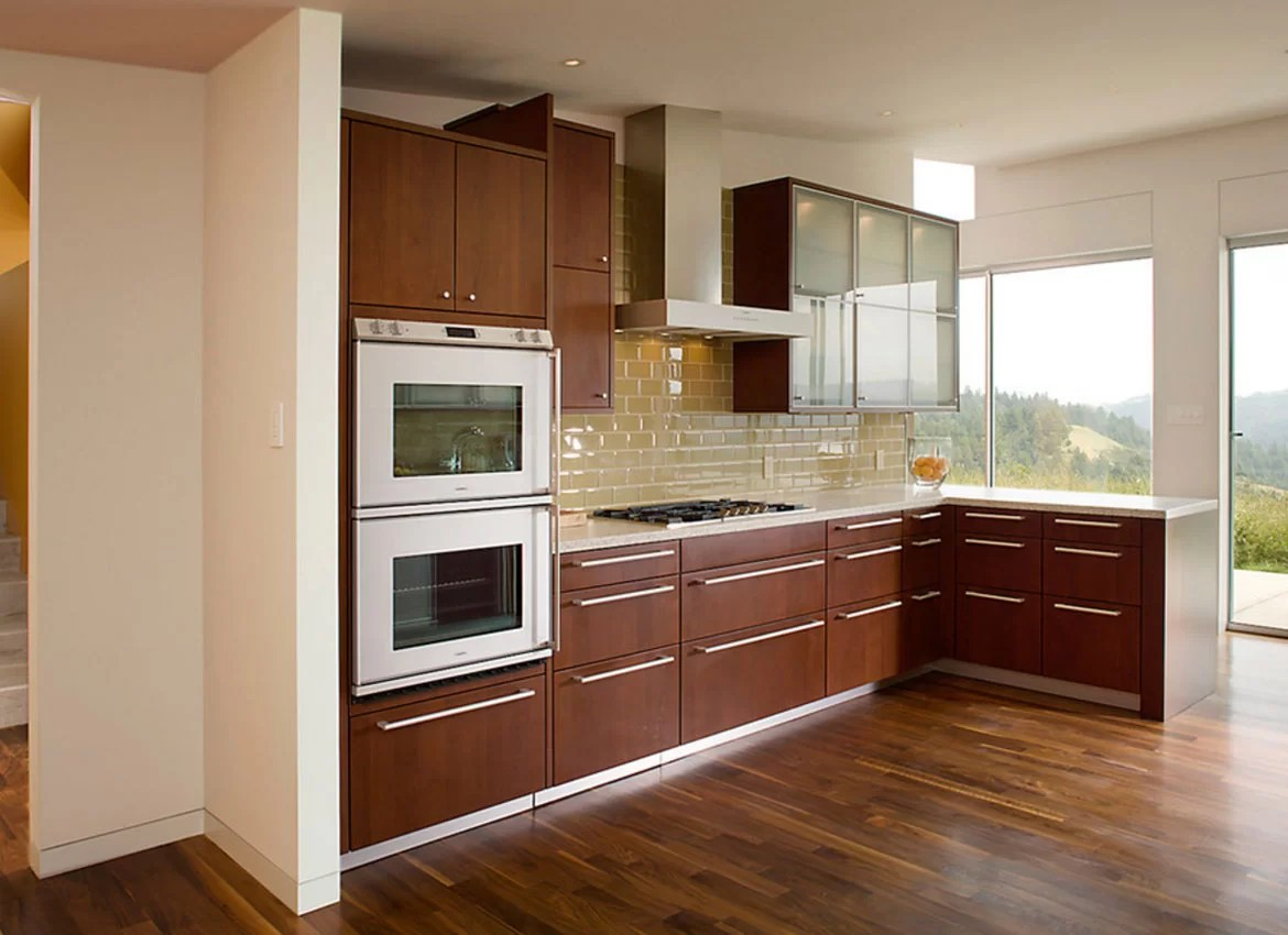 2 Tone Brown Kitchen Cabinets 30 Classy Projects With Dark Kitchen Cabinets Home