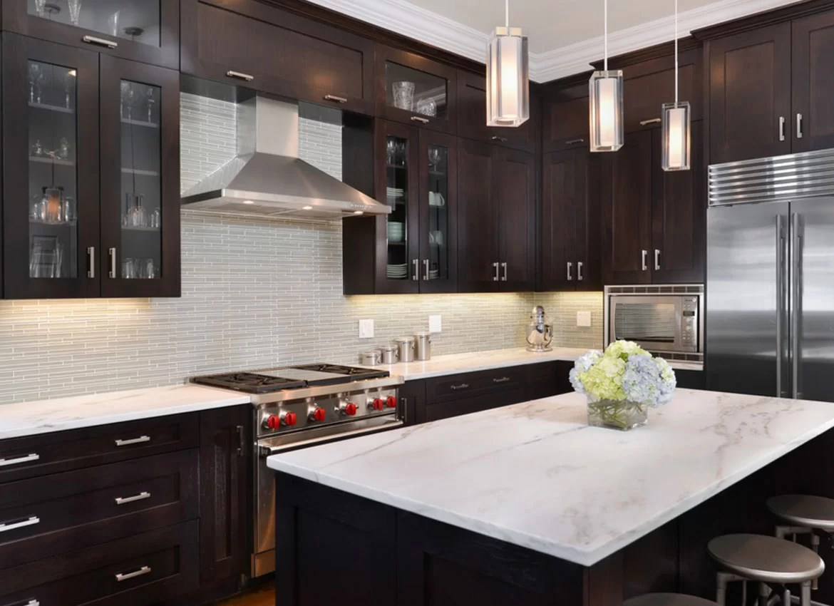 Black Kitchen Light Kitchen Design Pictures Dark Cabinets Wow Blog
