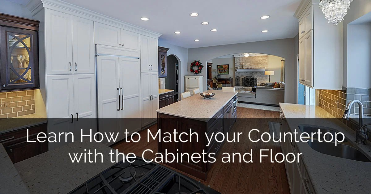 Wood Floor In Bathroom Pros And Cons Learn How To Match Your Countertop With The Cabinets And