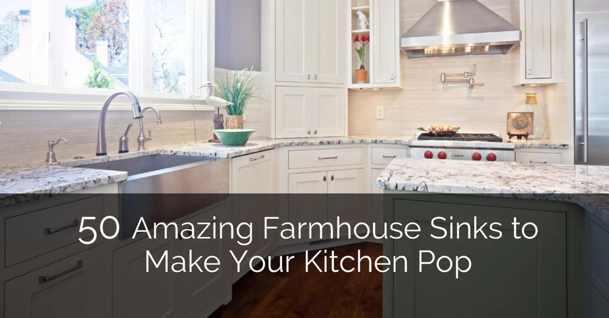 Wellborn Cabinets 50 Amazing Farmhouse Sinks To Make Your Kitchen Pop | Home