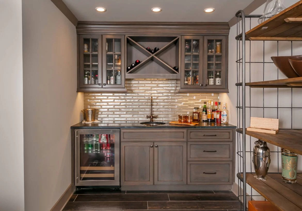 Kitchen Bar Design Pictures 45 Basement Kitchenette Ideas To Help You Entertain In Style Home